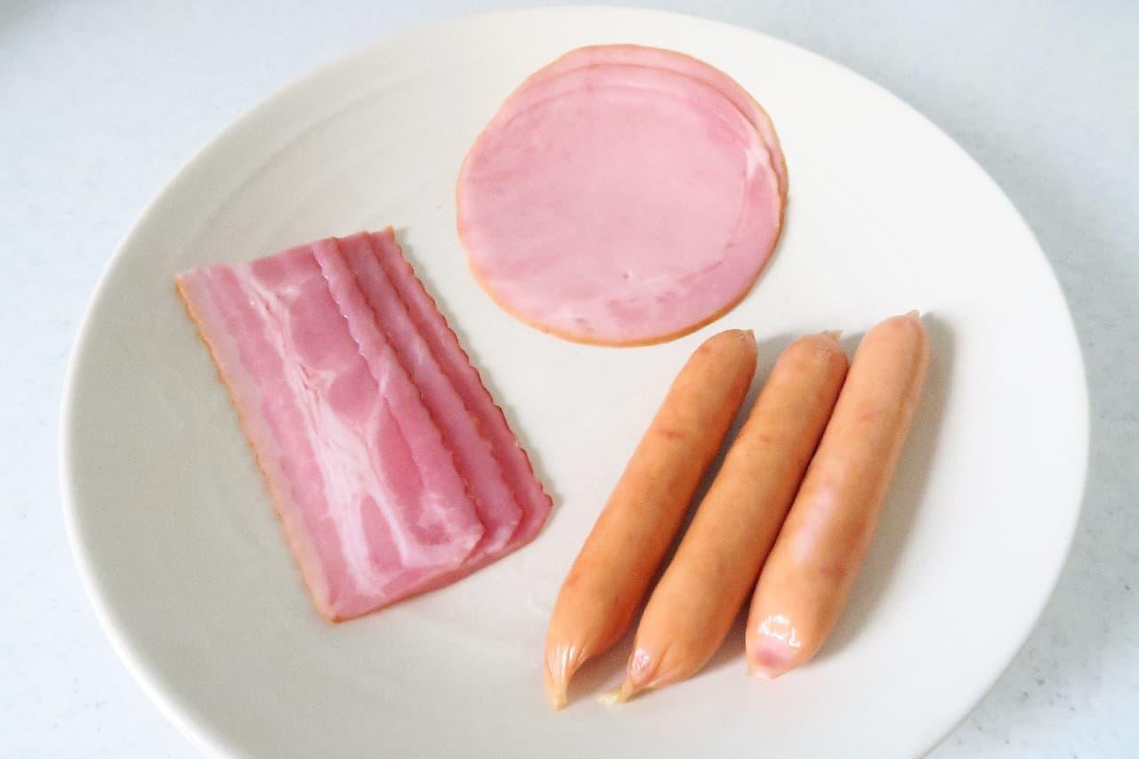 少量ずつ使えて便利!ベーコン・ソーセージ・ハムの冷凍保存法 -- スープやご飯の風味づけに