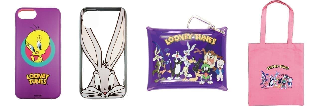 「ルーニー・テューンズ」のコラボ新商品が390円ショップ「サンキューマート」に -- ポーチやパスケースなど13商品