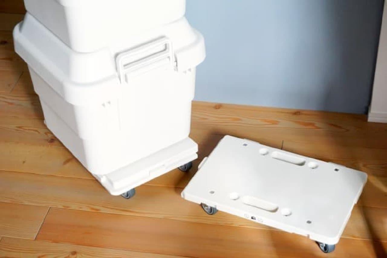 無印良品「ポリプロピレン頑丈収納ボックス」
