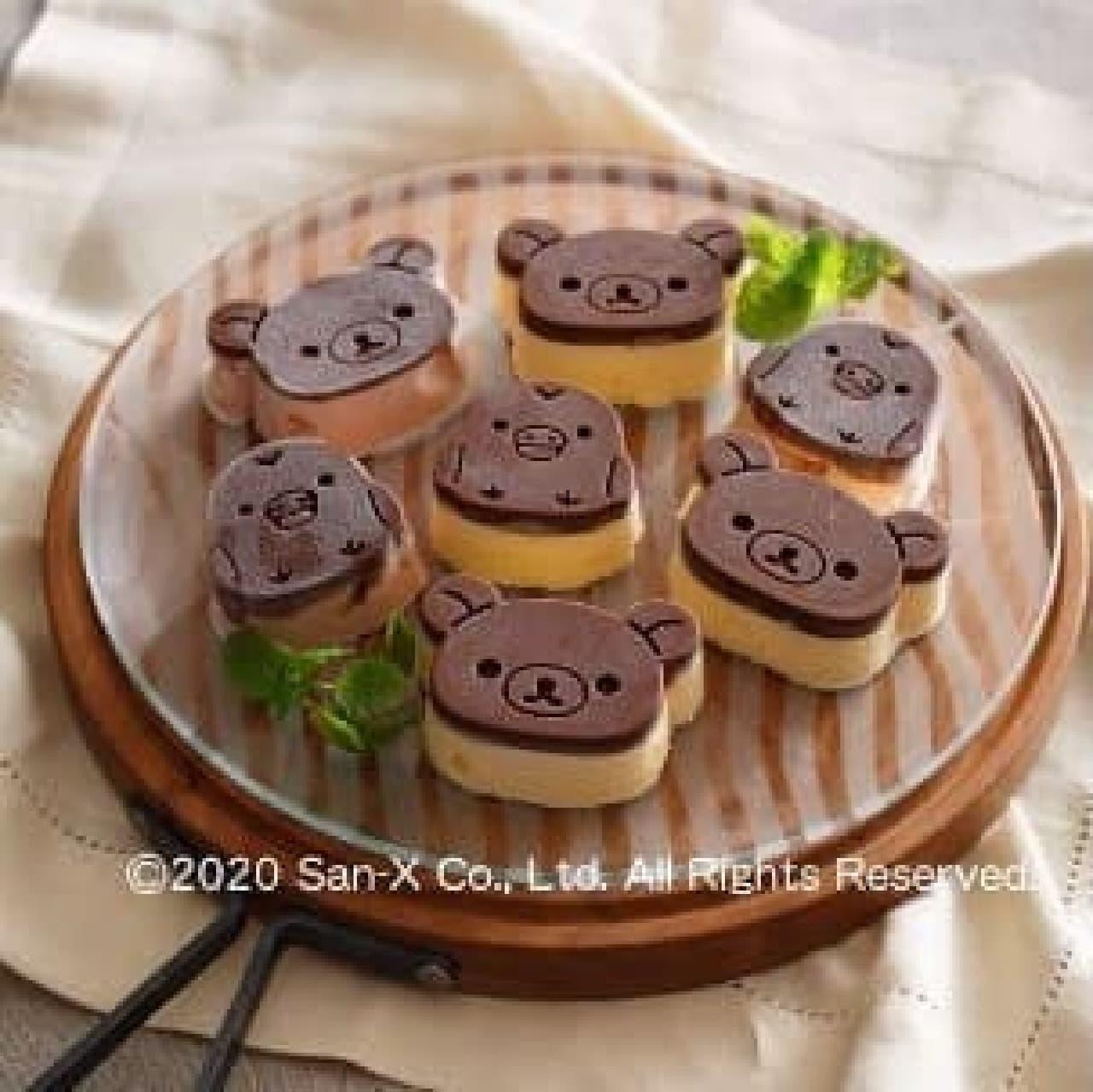 リラックマの製菓用品がヴィレヴァンに -- 可愛いだっこクッキー型やカップケーキ型など