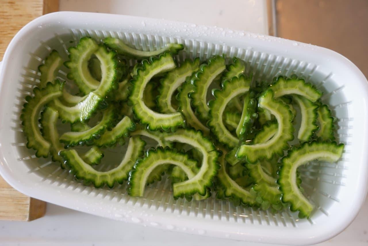 ゴーヤの冷凍保存方法