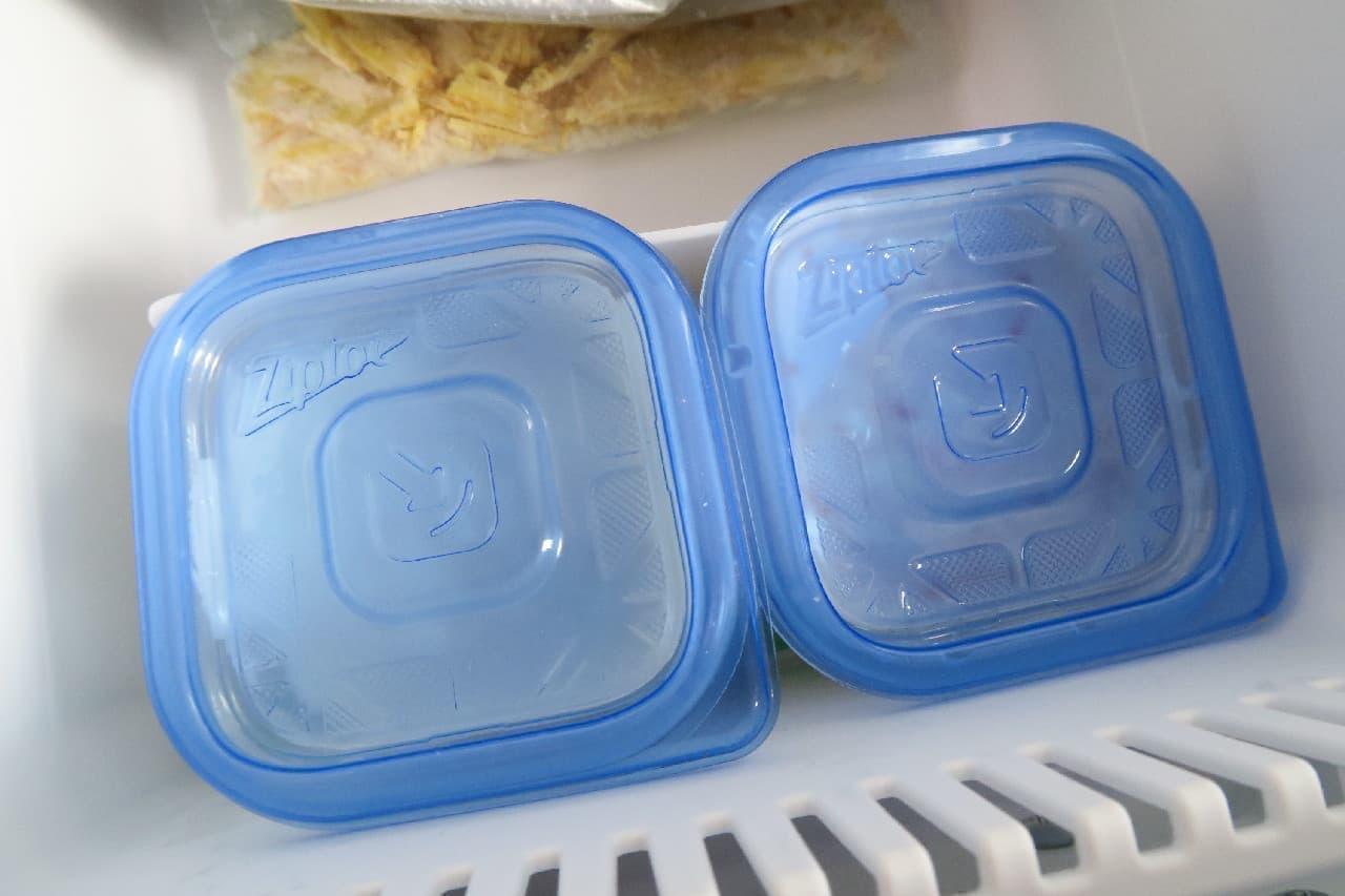 ステップ3ジャムやはちみつをプラス♪ ヨーグルトの冷凍保存法 -- シャーベットやスムージーにしても美味しい