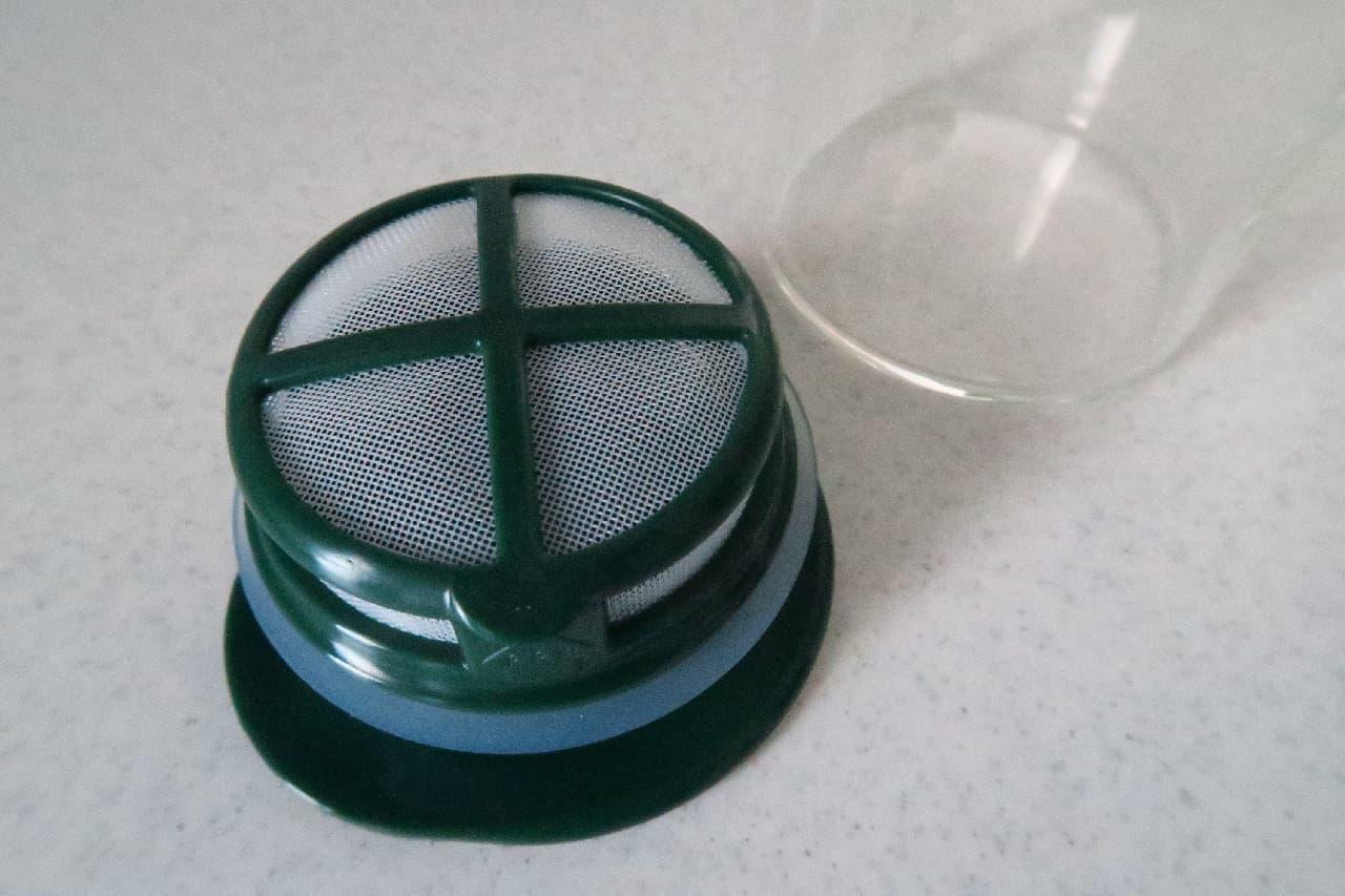 ドアポケットにすっきり収納♪ ハリオ「水出し茶ポット」は便利な茶こし付き -- 熱湯&食洗機OKの耐熱ガラス製