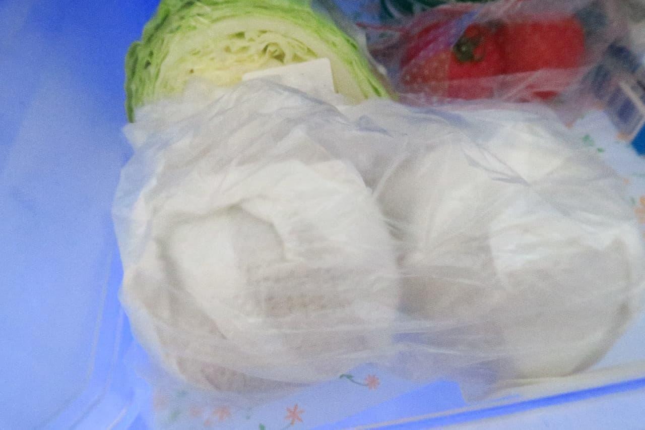 和梨は野菜室に入れて冷蔵保存