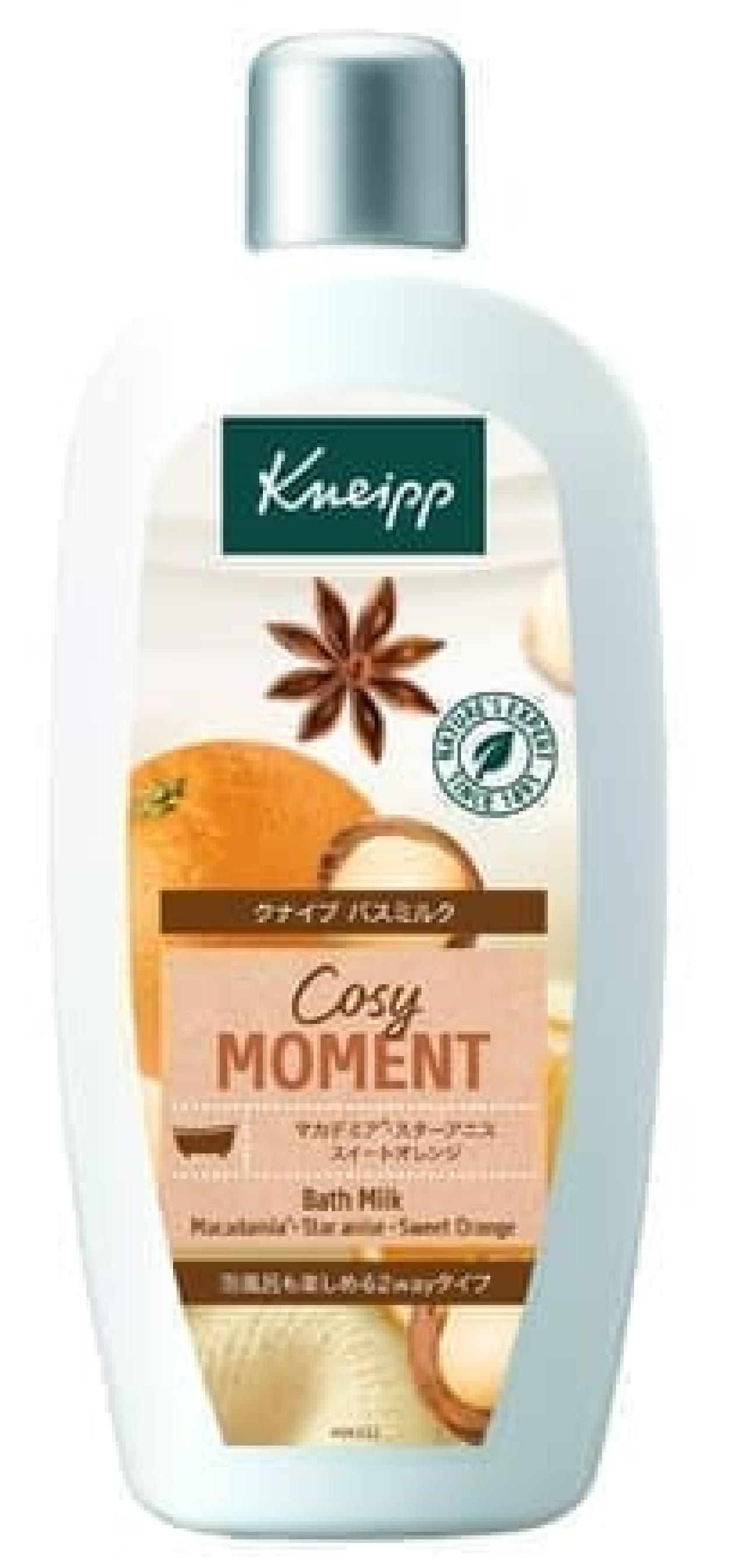 クナイプ「バスミルク コージーモーメント」
