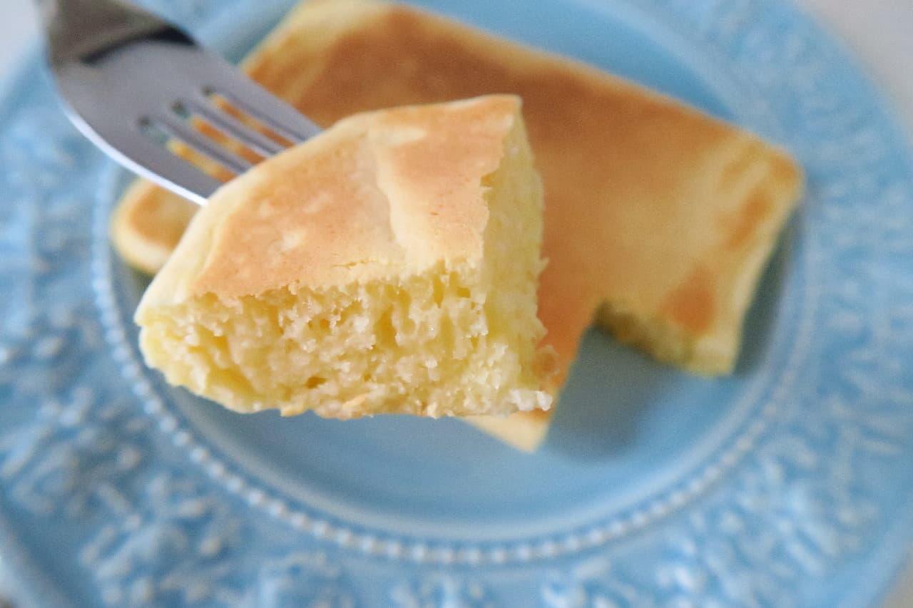 玉子焼き器のホットケーキ