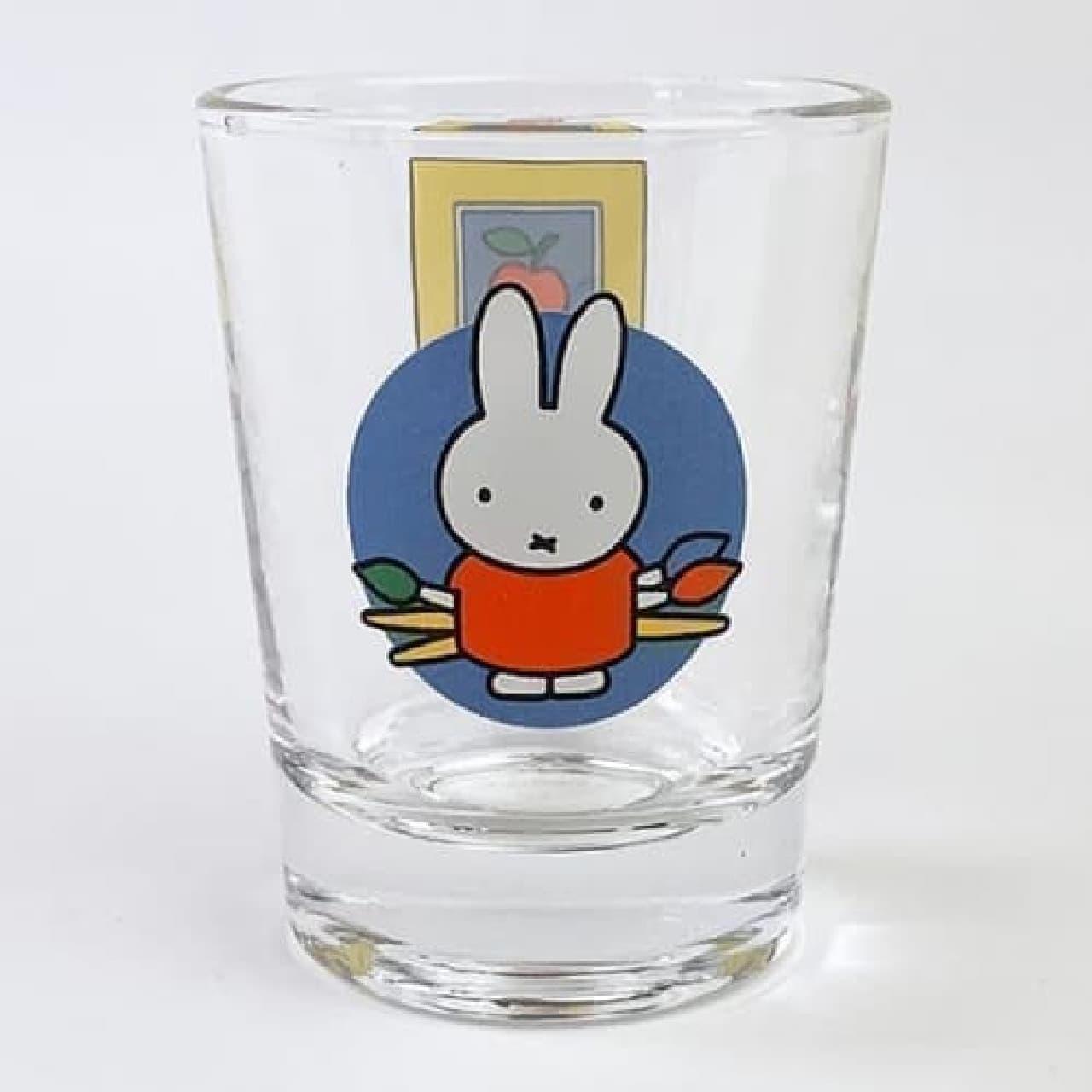 ミッフィーをデザインしたショットグラス