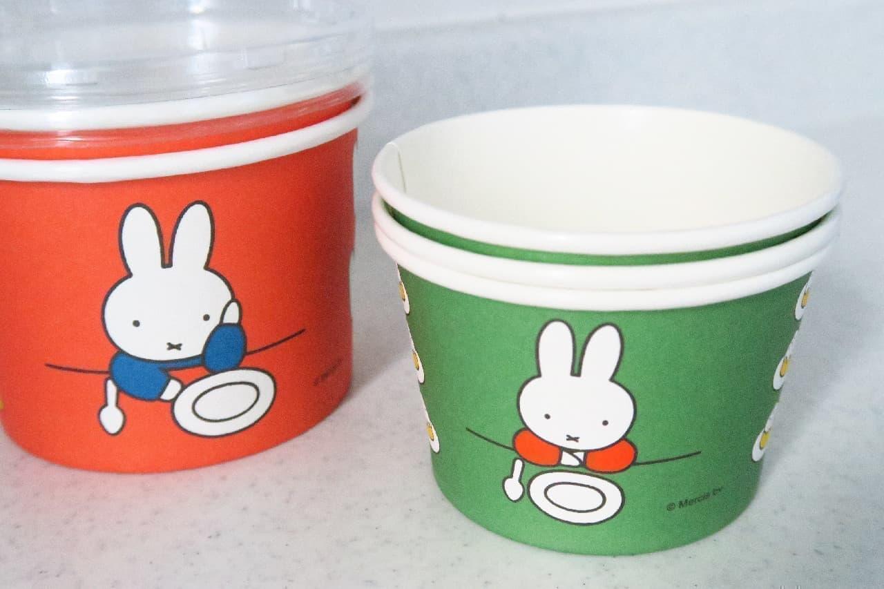 【100均】ミッフィーの可愛いデザートカップ発見!割り箸やつまようじも