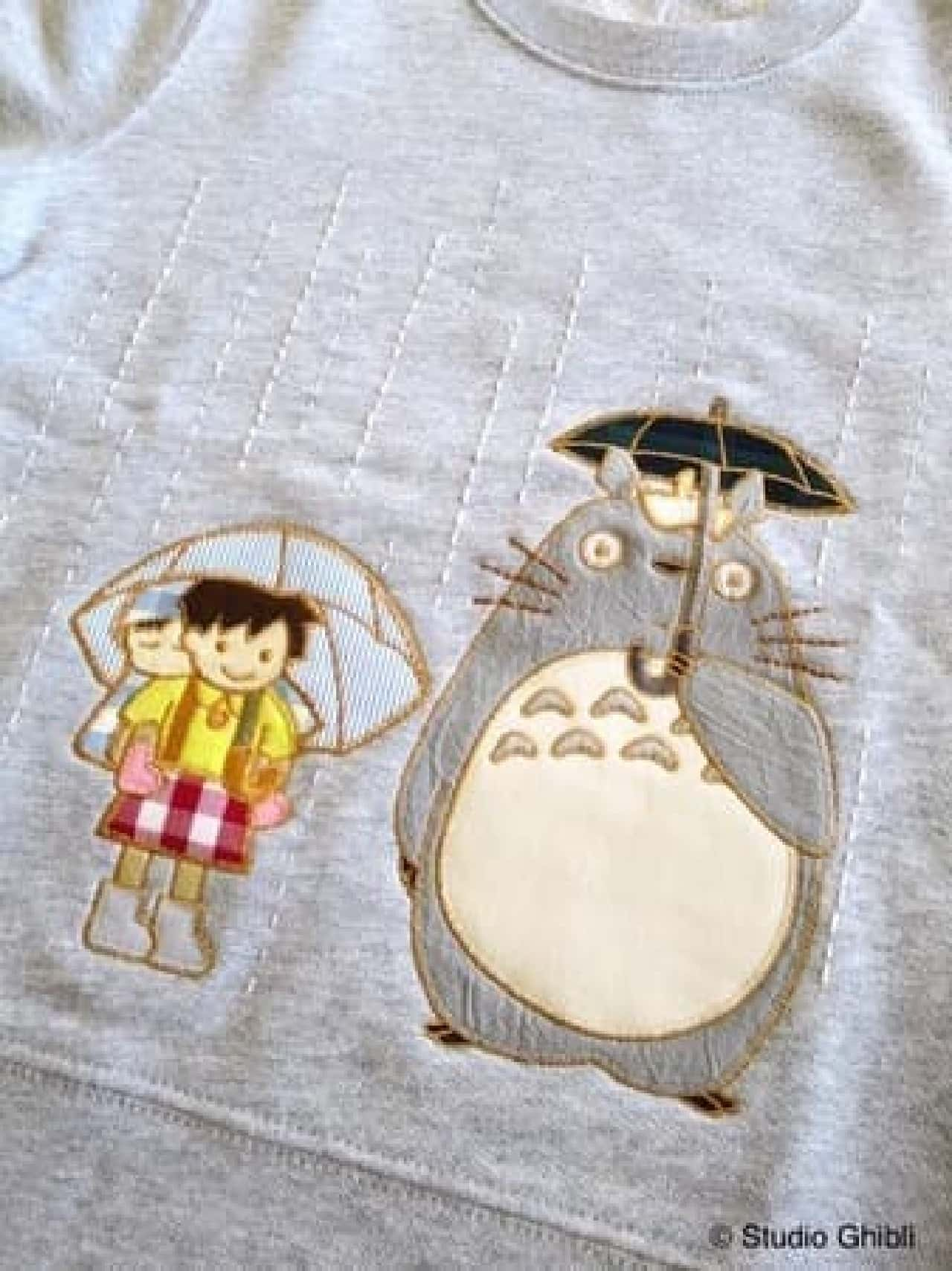 「スタジオジブリのあの服」の期間限定ショップがパルコに -- 刺繍や手縫いでジブリキャラクターを表現