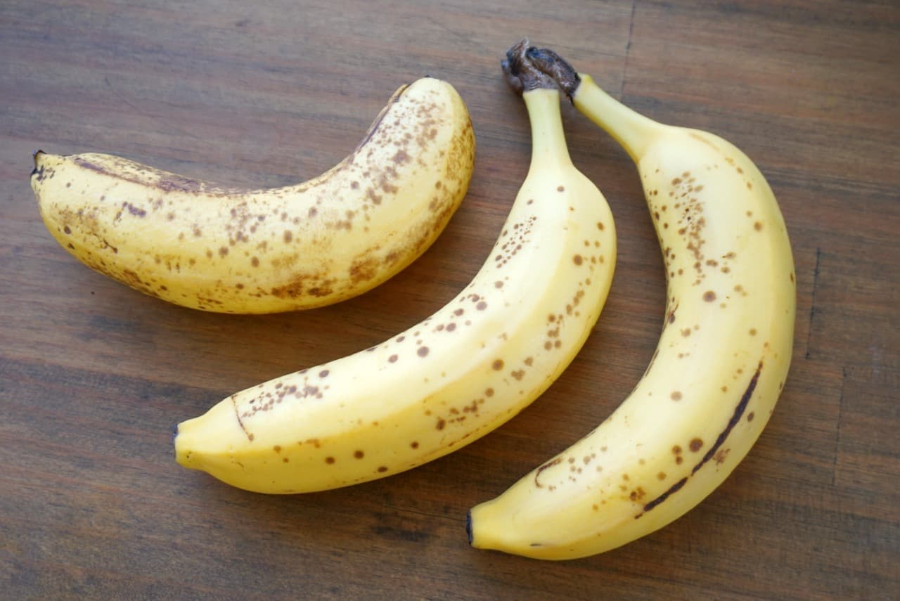 完熟バナナでバナナアイス