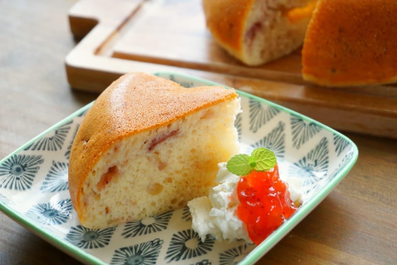 炊飯器ジャムケーキ