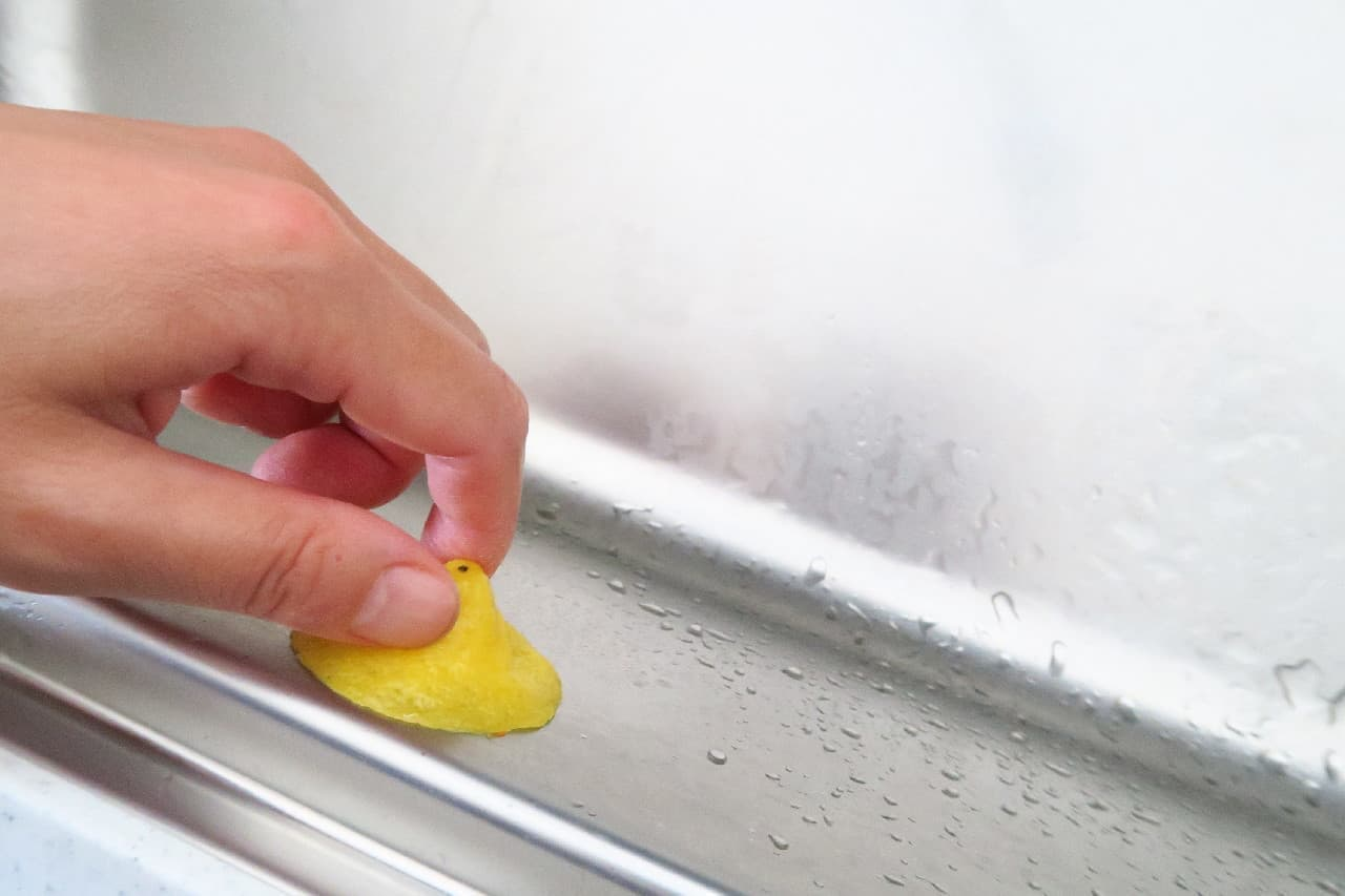 レモンの皮で台所掃除