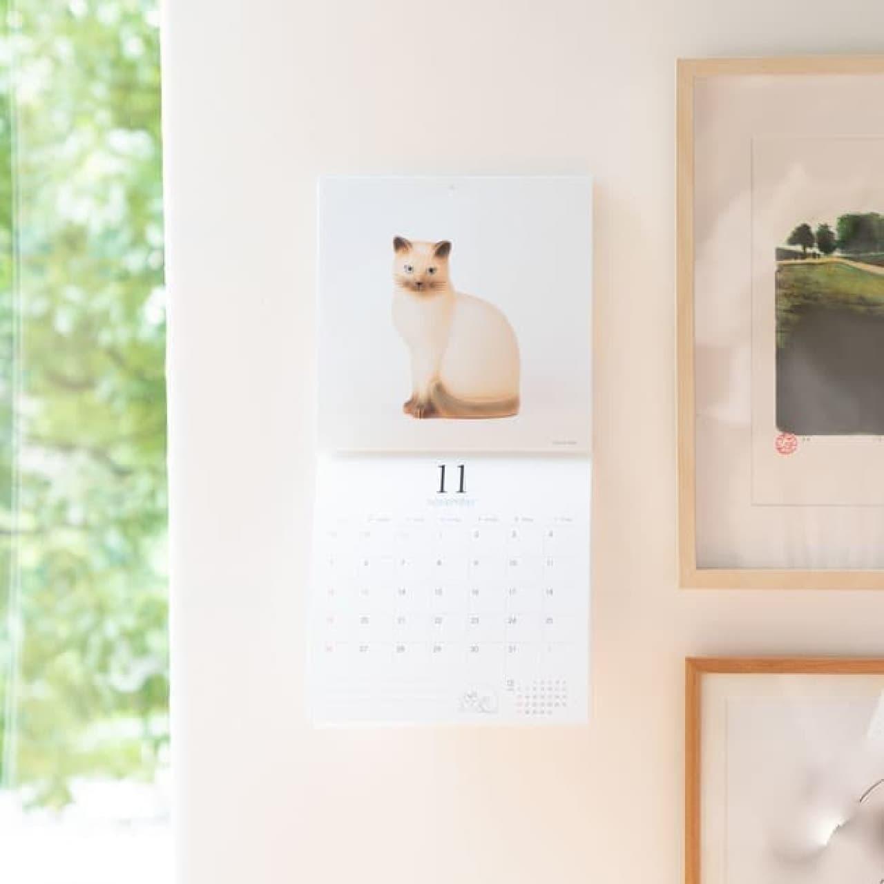リサ・ラーソンの2021年カレンダーやスケジュール帳が登場 -- 壁掛けや卓上など豊富に展開