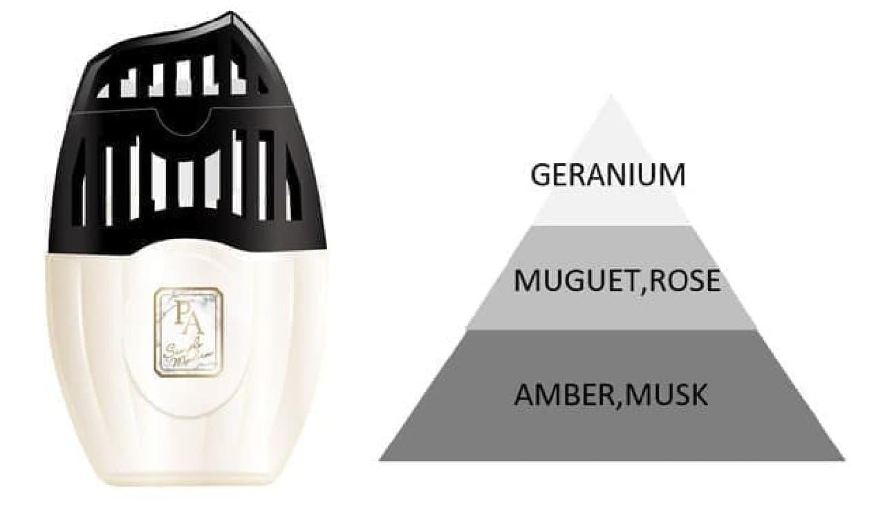 「玄関・リビング用 消臭力 Premium Aroma」からエレガントな新製品 -- インテリアに溶け込むホテルやカフェ風