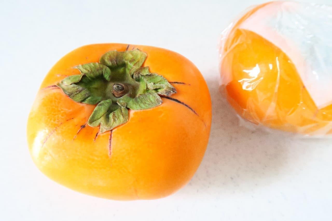 柿は野菜室に入れて冷蔵保存