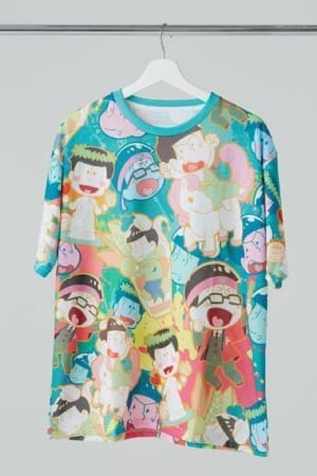 「おそ松さん」の洗える布マスク登場 -- 6つ子を美麗に印刷したゆったりTシャツも