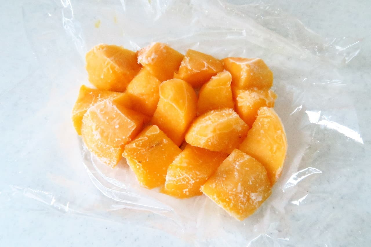 ひんやり冷たいシャーベットに♪ 柿の冷凍保存法