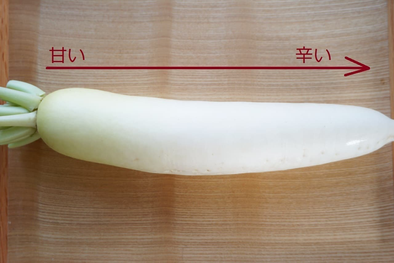 大根1本食べきりレシピ