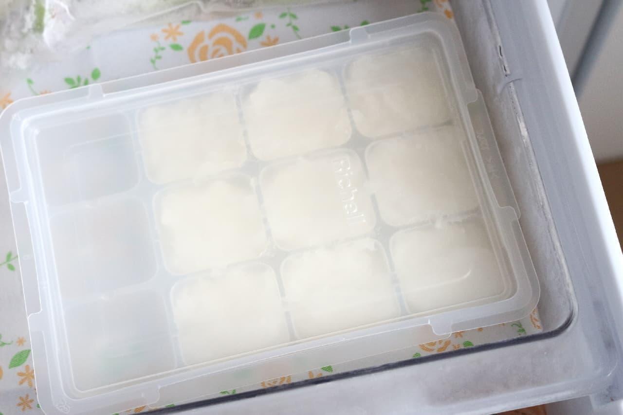 大根おろしの冷凍保存