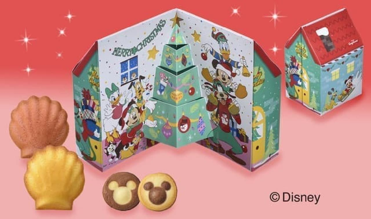 ツリーに飾れるボックスも!銀座コージーコーナー×ディズニーの可愛いクリスマススイーツ