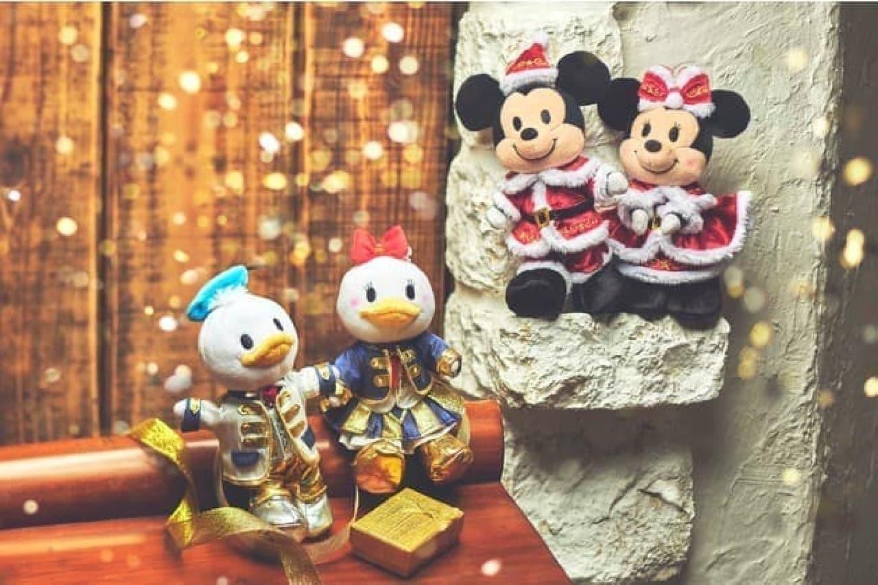 ディズニーストアからクリスマスの雑貨が登場 -- ツムツムもサンタやトナカイ姿に