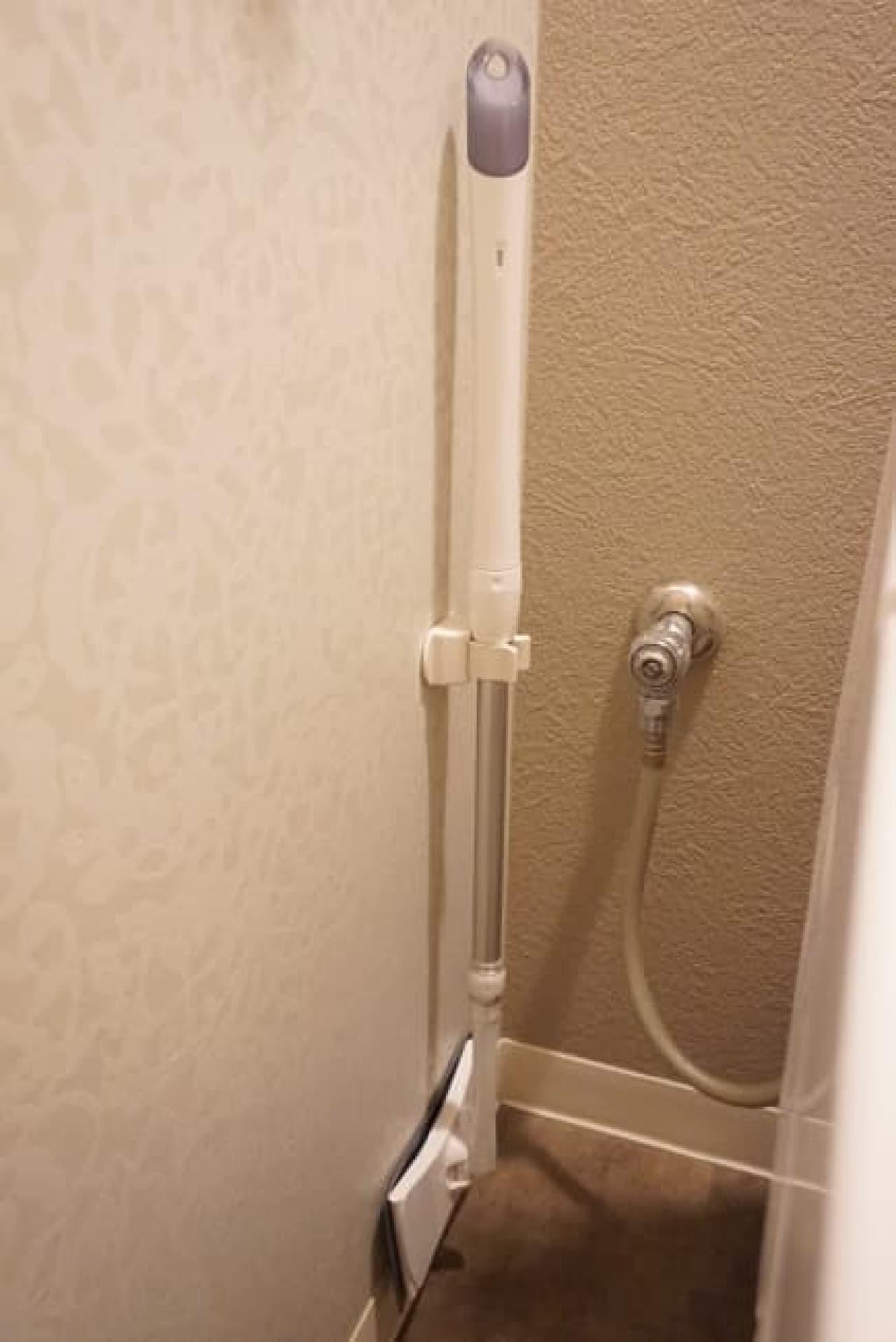 トイレ用「クイックルミニワイパー」