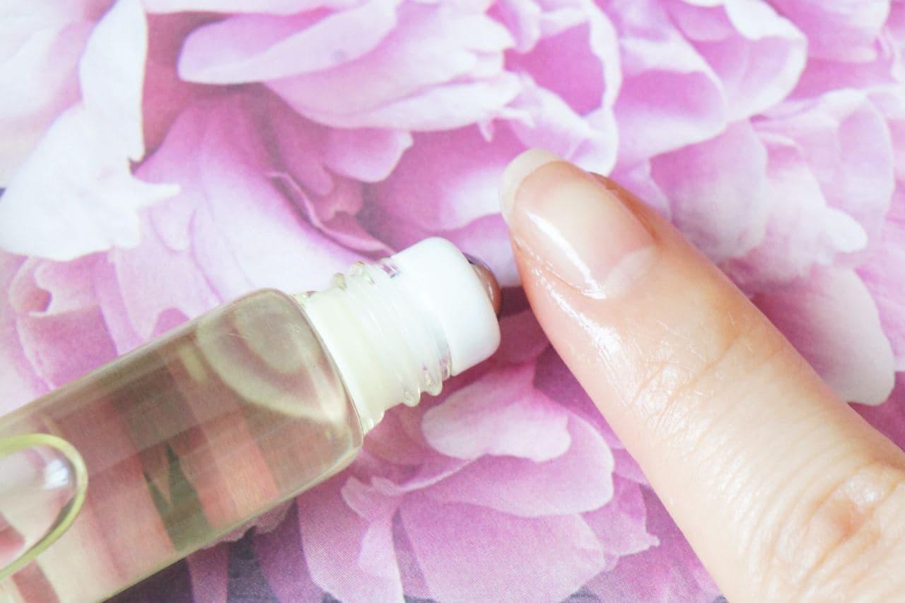 ダイソー「爪美活 ネイルオイル」を塗った爪