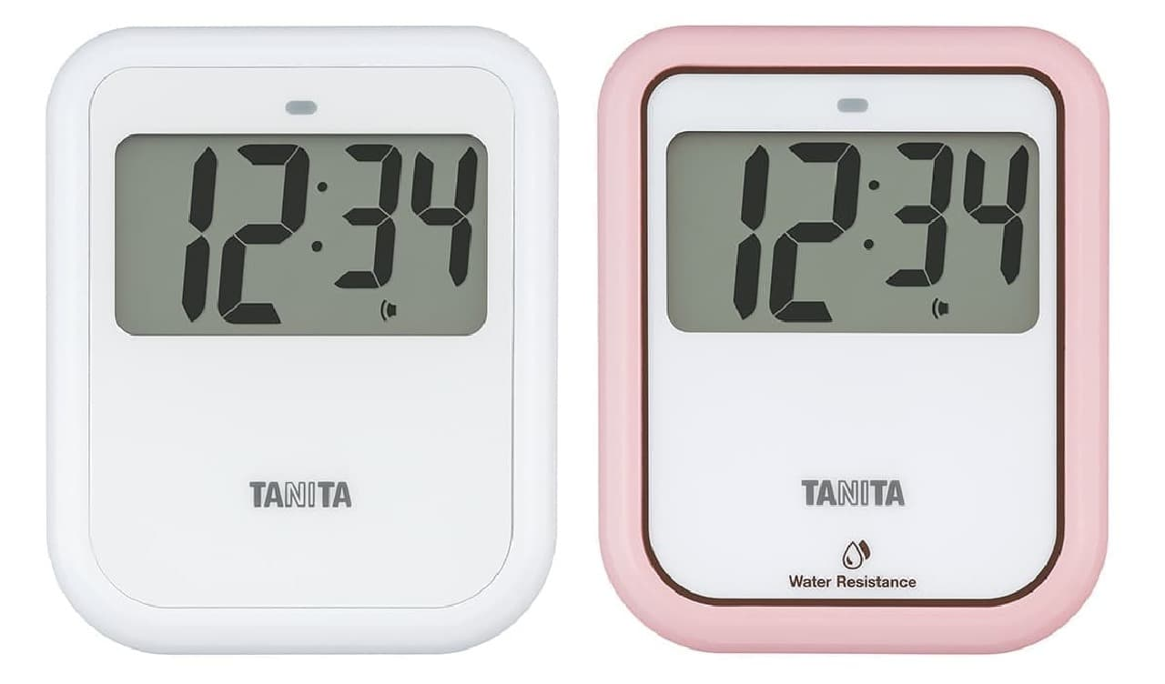 タニタ非接触タイマー「TD-421」「TD-422」