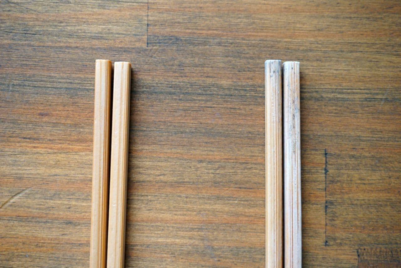 無印良品竹箸10膳入り