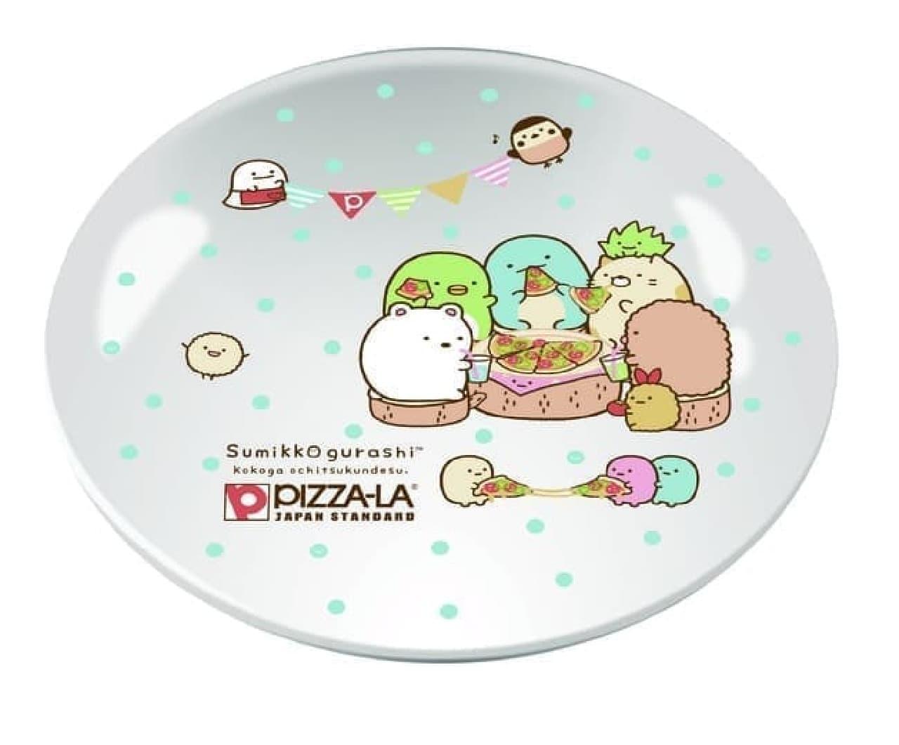 数量限定「すみっコぐらし スペシャルパック」がピザーラから -- プラス200円でオリジナルの皿とシールがもらえる