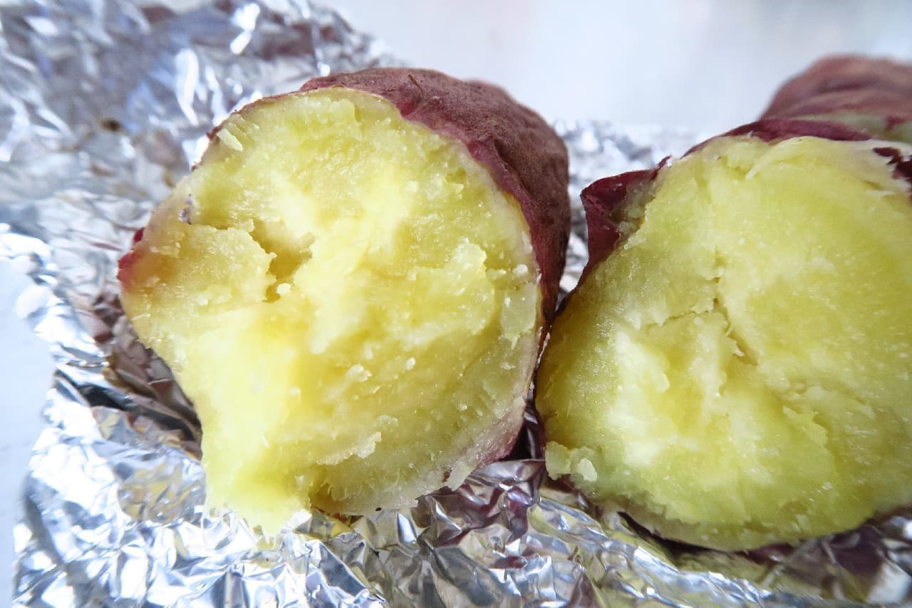 魚焼きグリル使用!石焼き芋風さつまいもの作り方 -- ホイルで包んで簡単&ホクホクの美味しさに