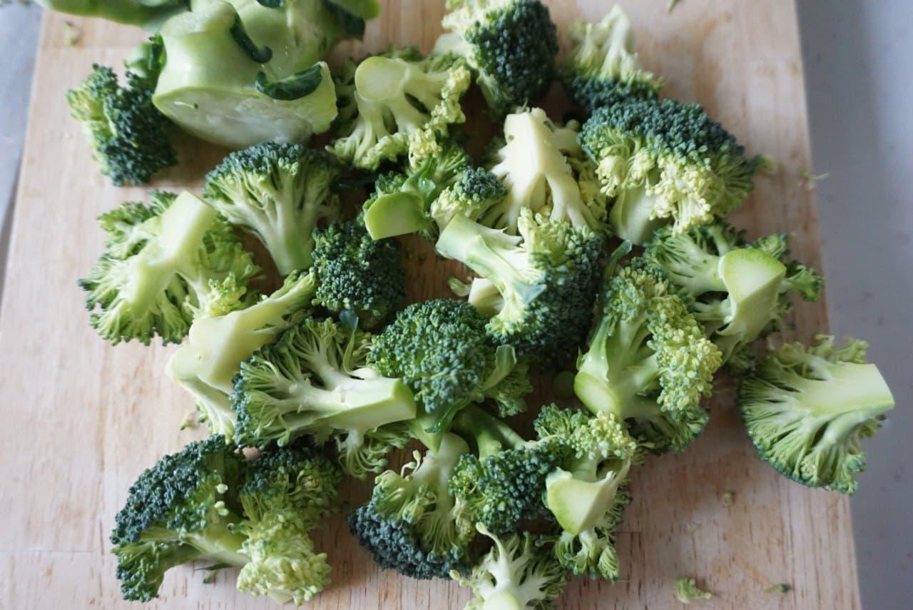ブロッコリーの冷凍保存方法