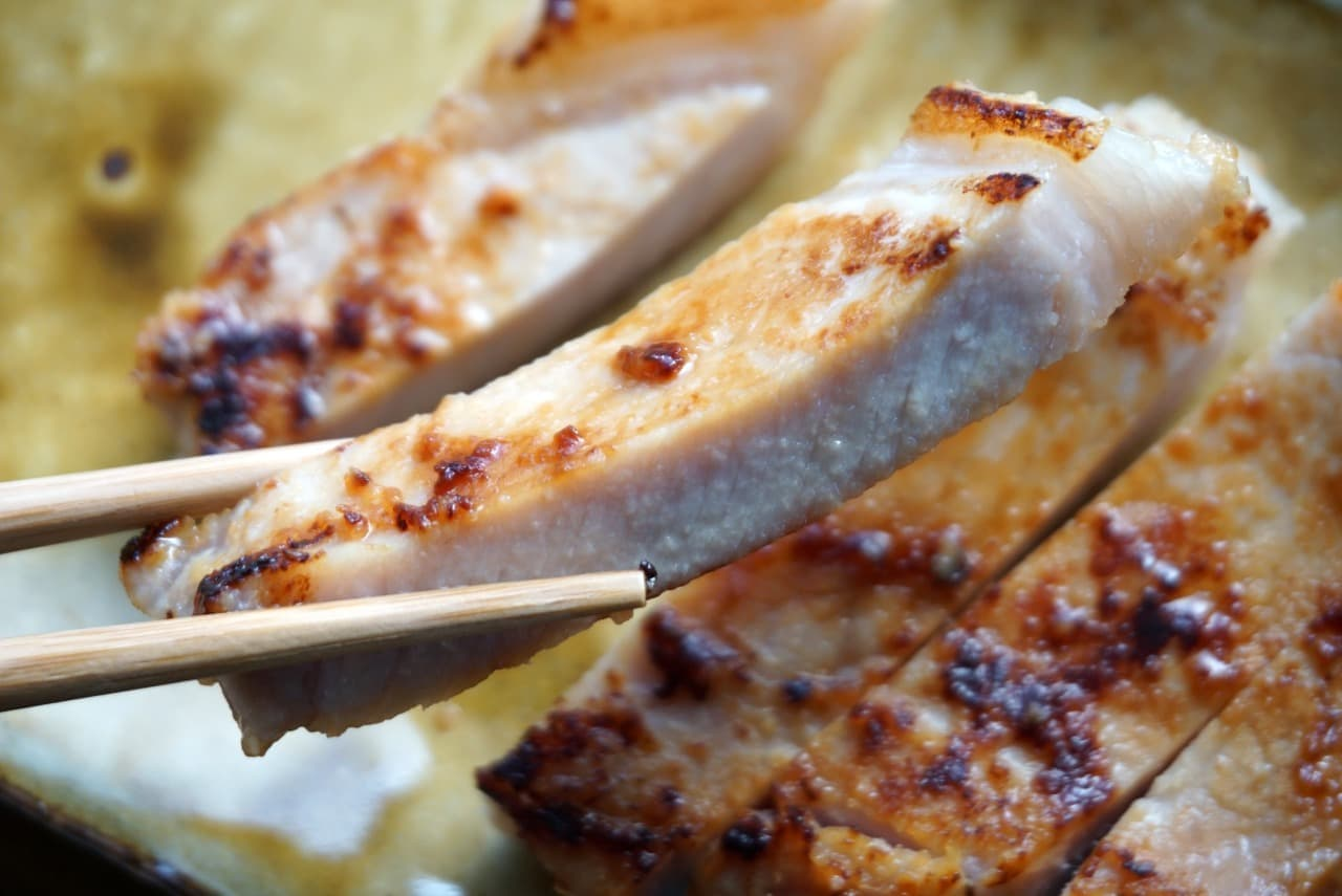 豚ロースの下味冷凍