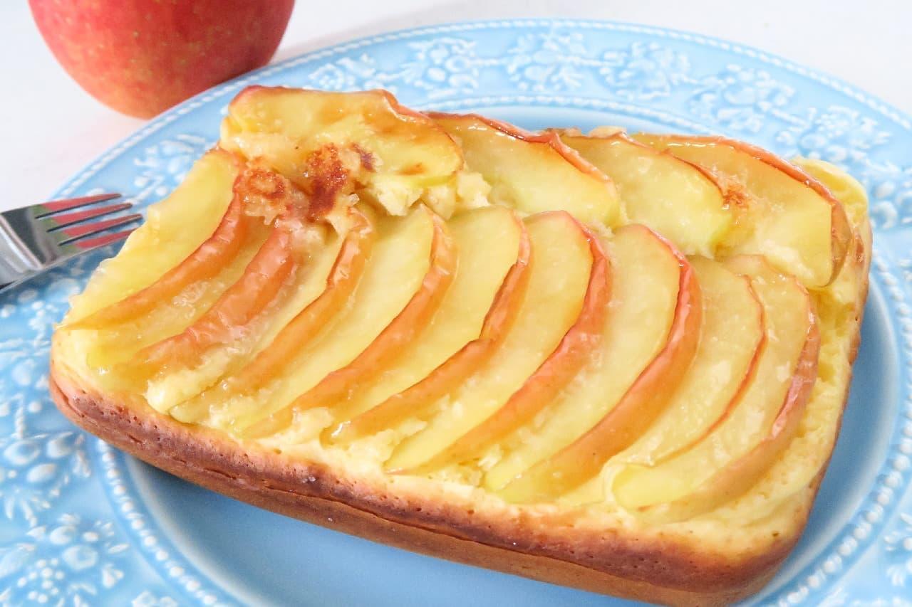 リンゴのパンケーキ