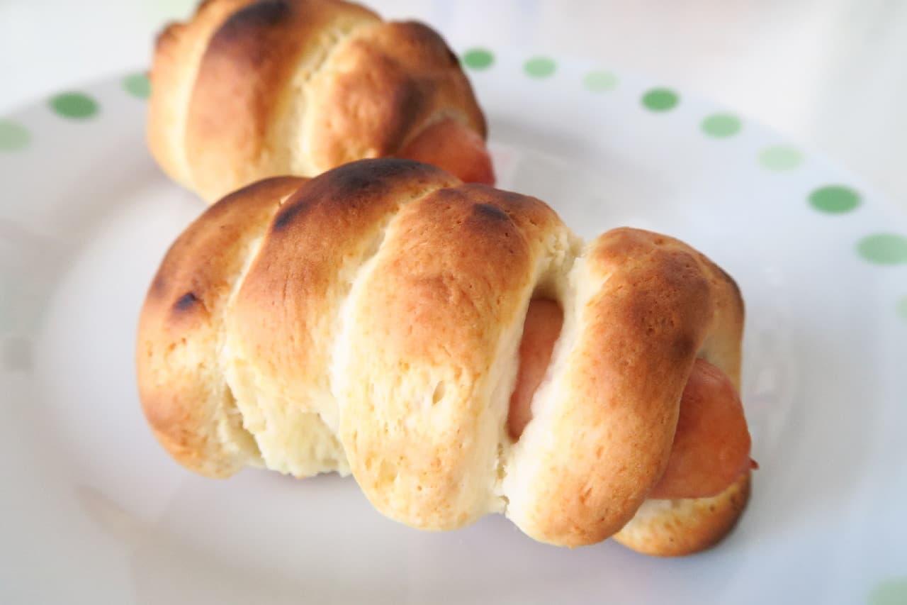 ホットケーキミックスで簡単♪ ウィンナーロールのレシピ -- 軽食やおつまみにぴったり