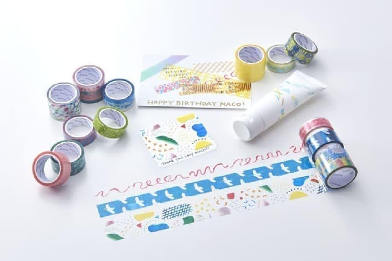 SODA(ソーダ) 透明マスキングテープ