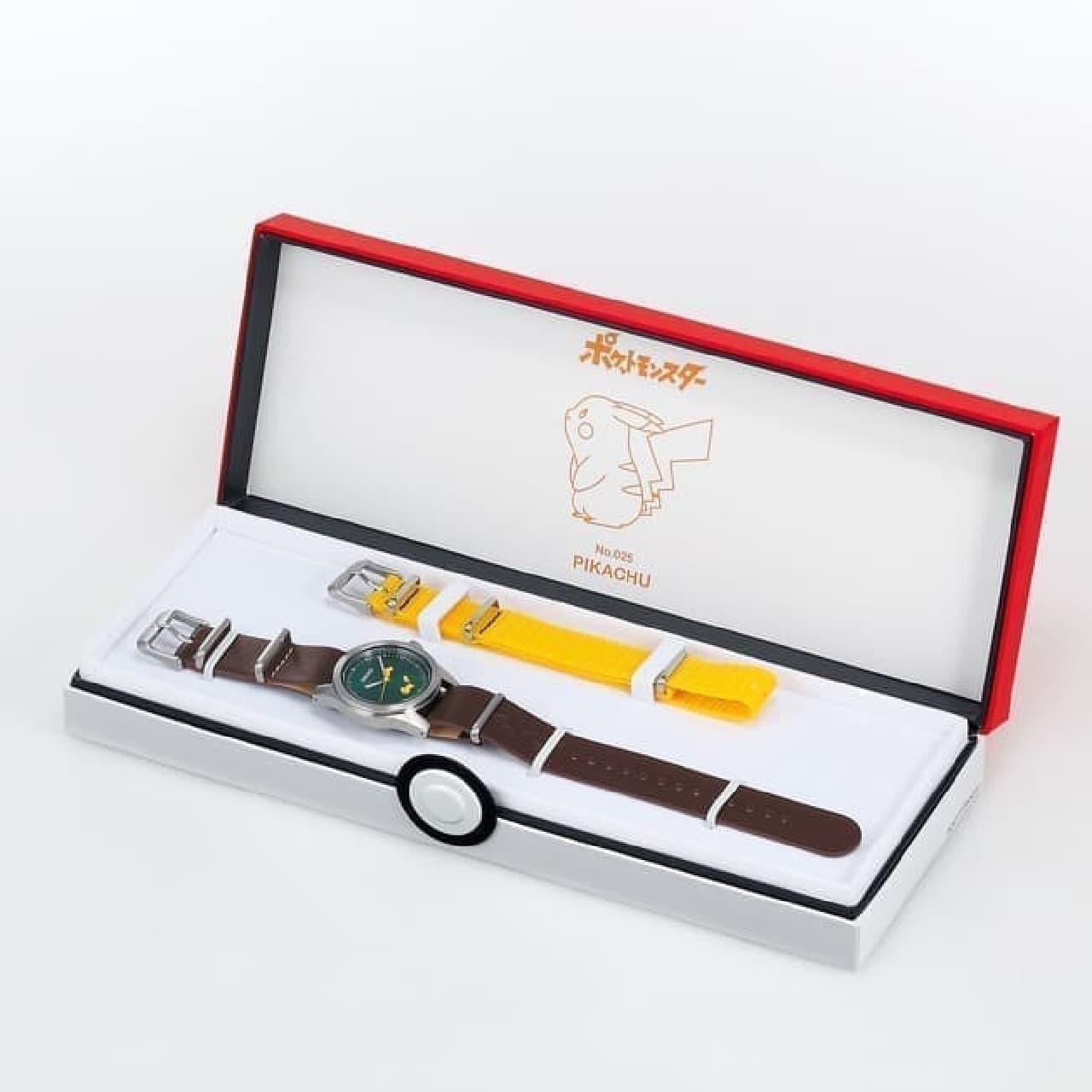 細かいつくりが嬉しい!「セイコー&ポケモン スペシャルモデル」登場 -- ピカチュウやイーブイなど4種類