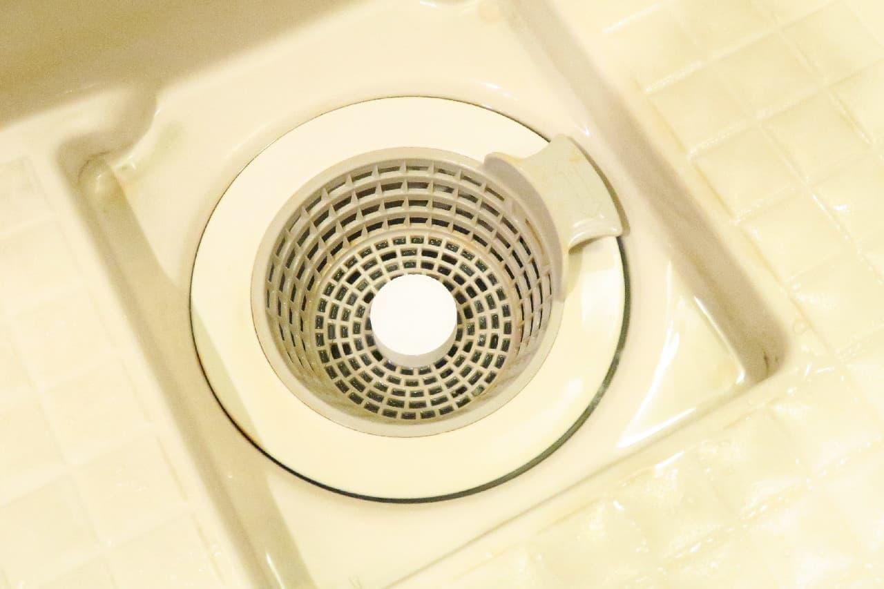 パワーバイオ お風呂の排水口きれい