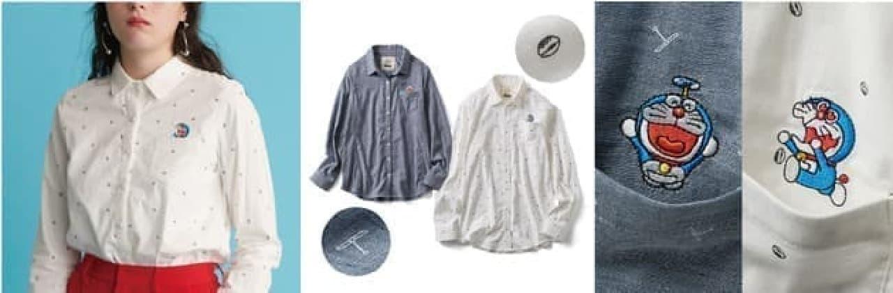 ドラえもんのパジャマや靴下がフェリシモから -- 大人が使いやすくクスッと笑えるデザイン