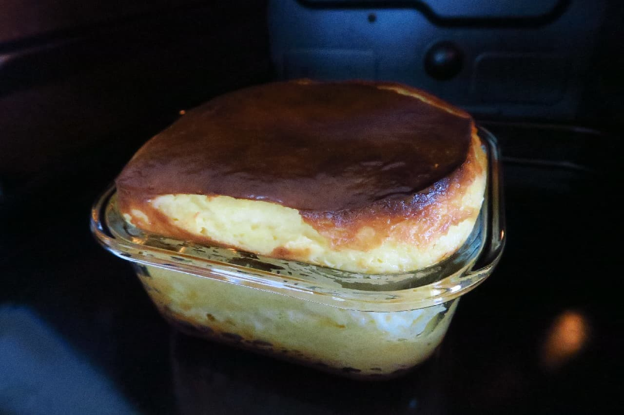バスクチーズケーキのレシピ
