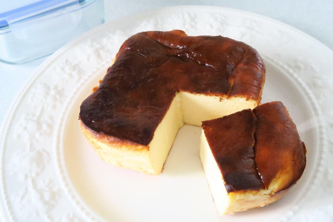 バスクチーズケーキや完熟バナナケーキなど -- ダイソー耐熱ガラス容器の活用レシピ5つ