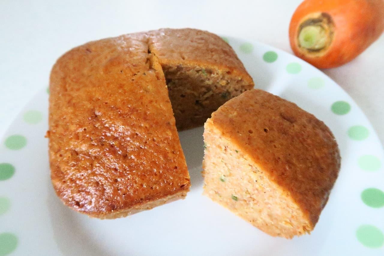 人参ケーキのレシピ