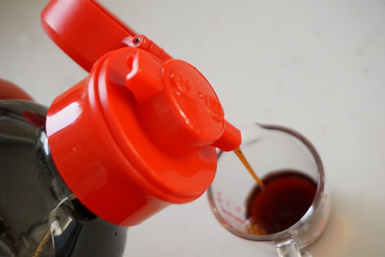 ダイソー「しょうゆボトルキャップ」