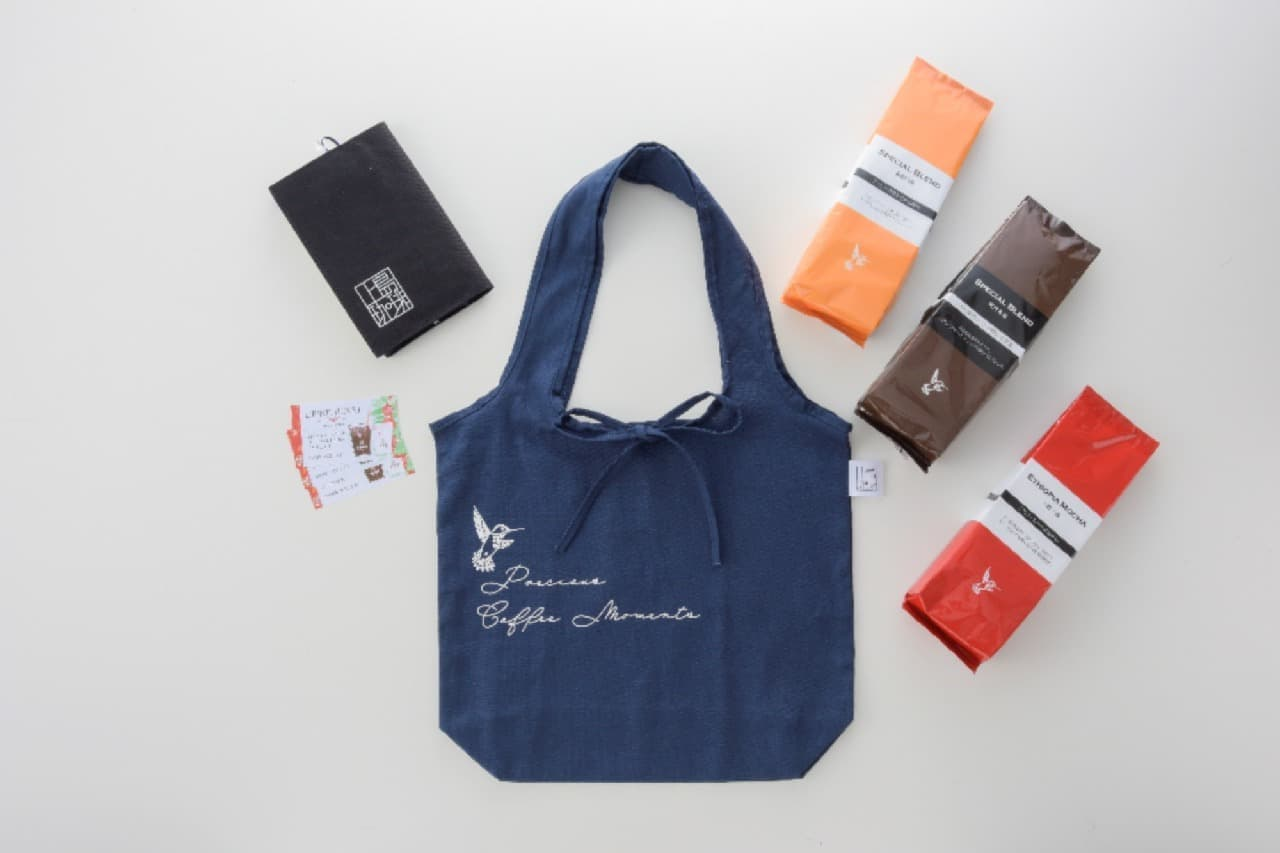 エコバッグにも♪ 上島珈琲店から福袋「HAPPY BAG」登場 --限定コーヒー豆やドリンク引換券入りトートバッグ