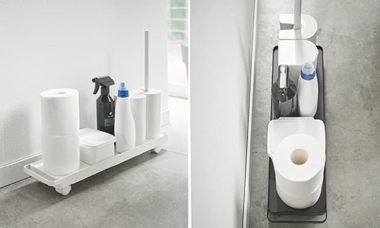 山崎実業トイレ用ワゴン