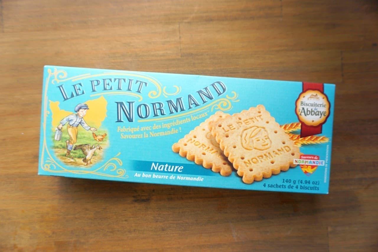 ノルマンディーバタークッキーのチーズケーキサンド
