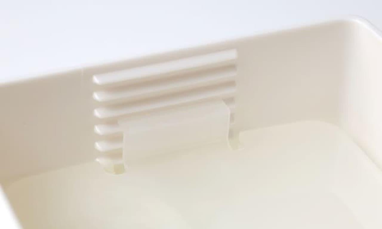 麻婆豆腐を水っぽくしない!「豆腐の水切り器」がマーナから -- カットも簡単に