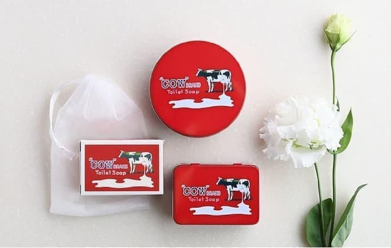 『リンネル特別編集 牛乳石鹸「カウブランド赤箱」のある暮らし』の付録