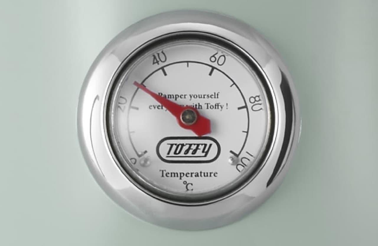 Toffy 温度計付き電気ケトル