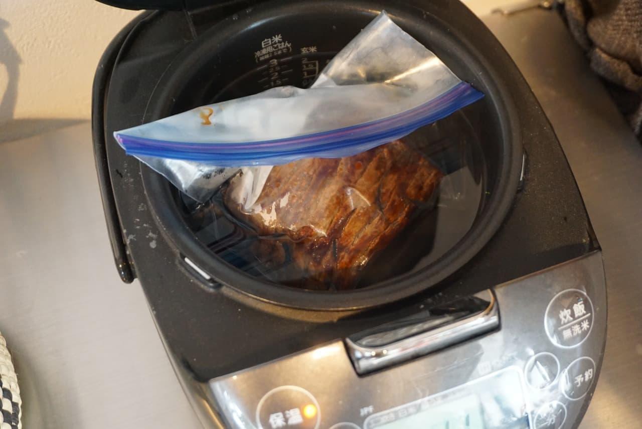 炊飯器でローストビーフレシピ